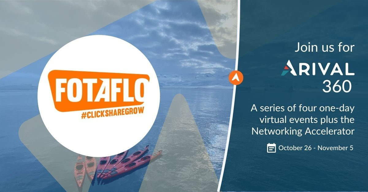 Re-Blog: Connect with Fotaflo at Arival 360